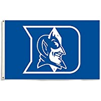 Duke Blue Devils フラッグ 丈夫なデラックス真鍮グロメット ナイロン ガーデンパーティー ブルーデビルズ フラッグ 屋外と屋内用 College Duke 3 x 5フィートの旗 グロメット付き