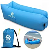 Go Beyond Outdoors Inflatable Lounger - Hangout Sofa With Carry...