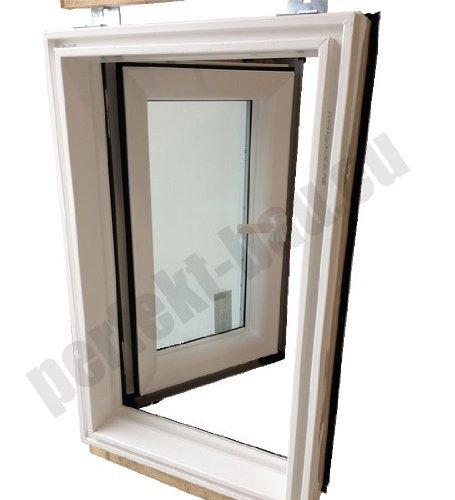 AFG Skylight PVC Dachfenster Warmdach Dachausstiegsfenster Ausstieg 55x78cm