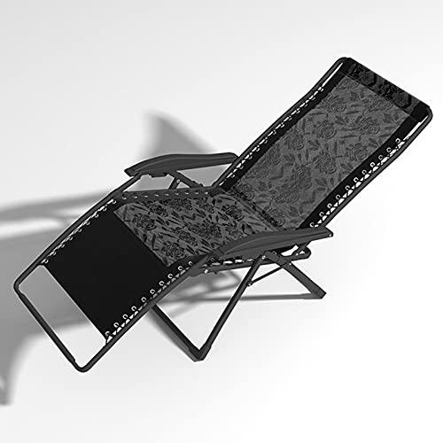 Household items Tumbona Plegable Multifuncional, Silla de Playa, sillón Ajustable, Tumbona de jardín portátil, Cama Plegable al Aire Libre, para terraza/césped/Cubierta