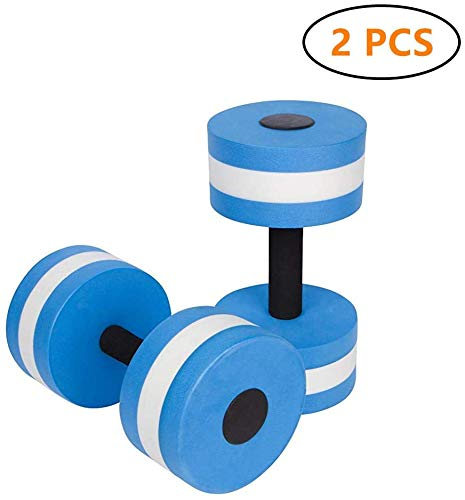 Best Review Of Eanpet Sports Aquatic Exercise Dumbbells Aqua Fitness Barbells Exercise Hand Bars - S...