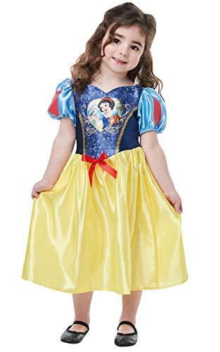 Rubie' s ufficiale Disney Princess Biancaneve classico costume con lustrini, per bambini, età: 2–3anni, altezza 98cm