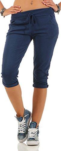 malito dames korte broek | nonchalante Boyfriendbroek | Sweatpants in effen kleuren | Pants - Bermuda - Joggingbroek 83701