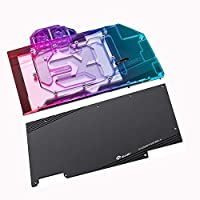 Bykski GPU銅RBW LED水冷ブロックFor Asus ROS STRIX RTX3070 RTX3060Ti GAMING (5V LED GPU Block With Backplate)