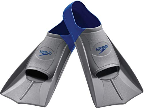 Speedo Unisex Swim Training Fins Rubber Short Blade
