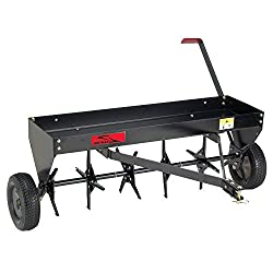 Brinly PA-40BH Tow Behind Plug Aerator, 40-Inch