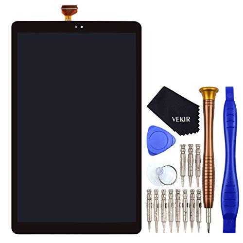 VEKIR Schwarz LCD Touchscreenizer Bildschirm anzeigen Ersatz fur Samsung Galaxy Tab A 101 2019