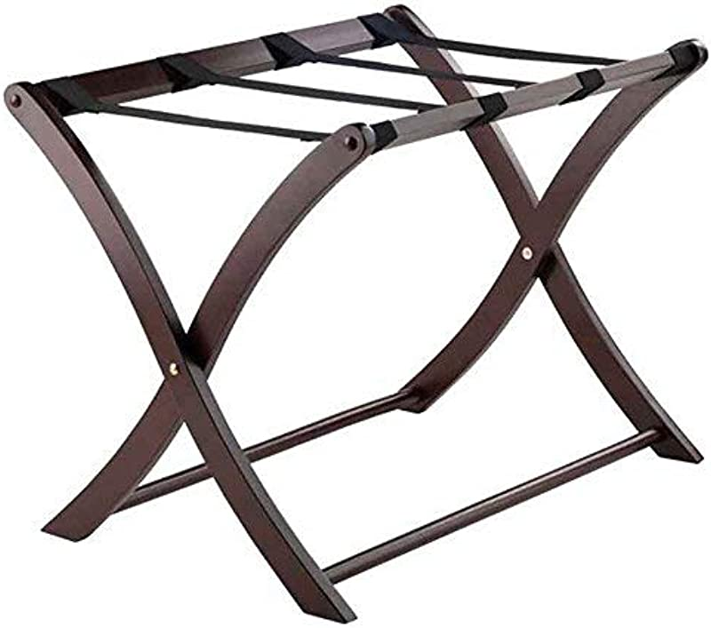 Winsome Wood 40620 Scarlett Cappuccino Luggage Rack