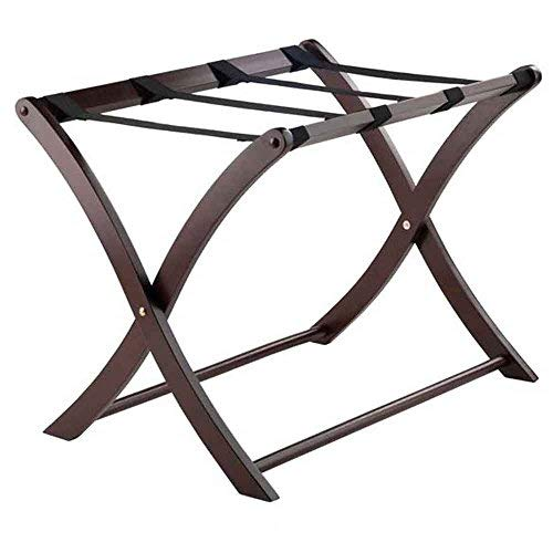 Best Price Winsome  Scarlett Cappuccino Luggage Rack