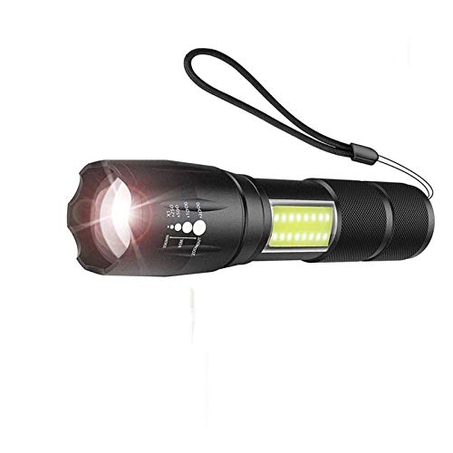 Linterna Linterna LED Brillante Estupendo Con La Equitación COB Light Side 4...
