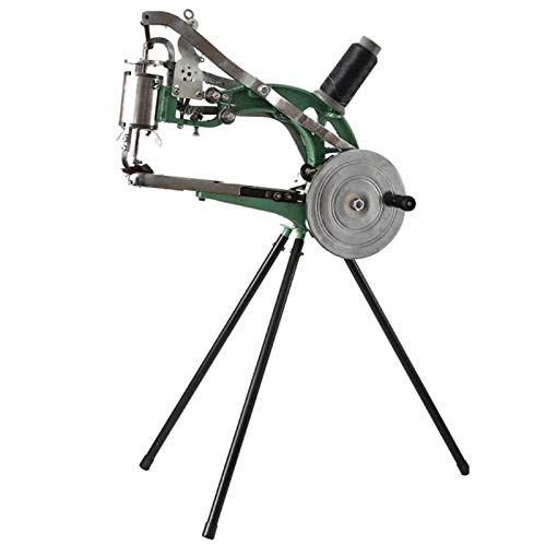 EASYG Hand Cobbler Cotton/Leather/NylonHand Leather Shoe Repair Machine Sewing Machine Dual Cotton Nylon Line Machine