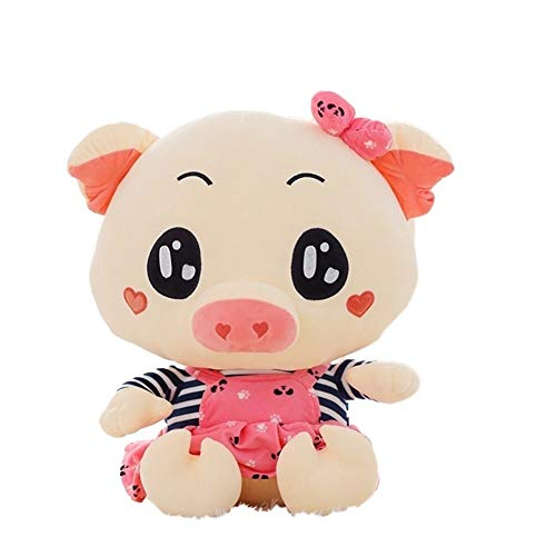 Yuhualiyi123 Valentine's Day Soft Toy Gift New Cute Couple Pig Plush Toy Fashion Decoration Pillows Durable Portable Cushion Soft Pillow (Color : Female, Size : 50cm)