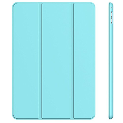 JETech Case for Apple iPad Pro 9.7-Inch (2016 Model), Smart Cover Auto Wake/Sleep, Blue