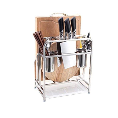 XXT roestvrijstalen opbergmand keukenplank plank gereedschaphouder L