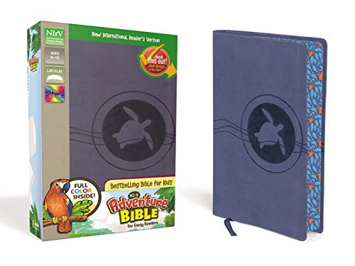 Nirv Adventure Bible For Early Readers Imitation Leather Blue Full Color