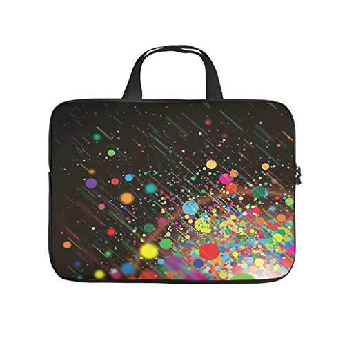 Funda para portátil con burbujas de colores, antiestática, para el ordenador portátil