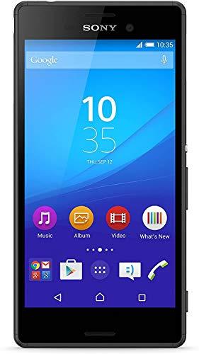 Sony Xperia M4 Aqua E2306 16GB Unlocked GSM 4G LTE Phone w/ 13MP Camera - Black (Renewed)