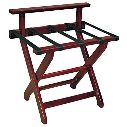 Opvouwbare bagagerek houten koffer rek standaard koffer rek 61 * 43 * 66cm bagagerek
