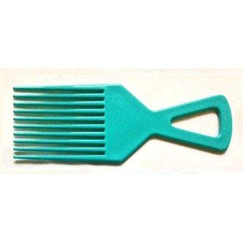 Afro Peigne Démêler Brosse De Cheveux Couleurs Rouge Orange Bleu Jaune - Turquoise