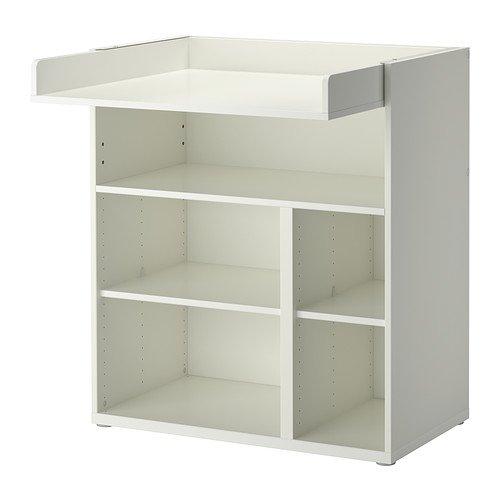 Ikea STUVA–Cambio de Mesa/Escritorio, Blanco–155cm