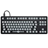 Drop CTRL Mechanical Keyboard — Tenkeyless TKL (87 Key) Gaming Keyboard, Hot-Swap Switches, Programmable Macros, RGB LED Backlighting, USB-C, Doubleshot PBT, Aluminum Frame (Barebones, Black)