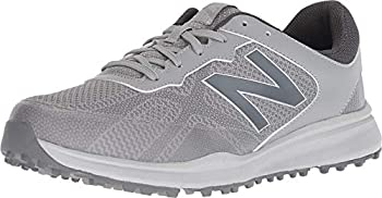 New Balance mens Breeze Breathable Spikeless Comfort Golf Shoe Grey 9.5 X-Wide US