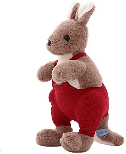 Alga canguro muñeca peluche juguete australiano canguro muñecas lindas almohadas algas kangaroo peluche juguetes para niños suave animal relleno cojín para niños dormitorios sofás coches novias