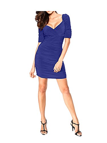 Ashley Brooke Designer-Cocktailkleid, blau (38)