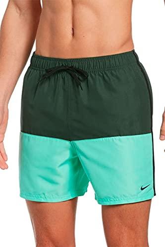 Nike 12,7 cm Volley-Shorts für Herren, Herren, Schwimm-Slips, NESSA569-303, galaktische Jade, L