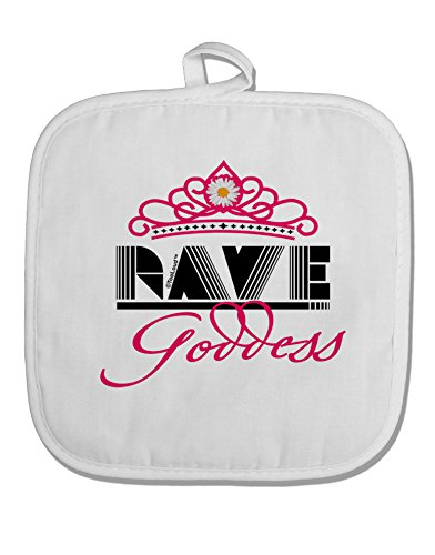 TOOLOUD Rave Goddess White Fabric Pot Holder Hot Pad