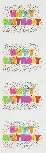Mrs Grossman Stickers-Happy Birthday