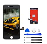 Magic Tech for iPhone 7 Screen Replacement (4.7inch Black), LCD Digitizer Touch Screen Assembly Set with 3D Touch, Repair Tools and Professional Replacement Video Included (Black)