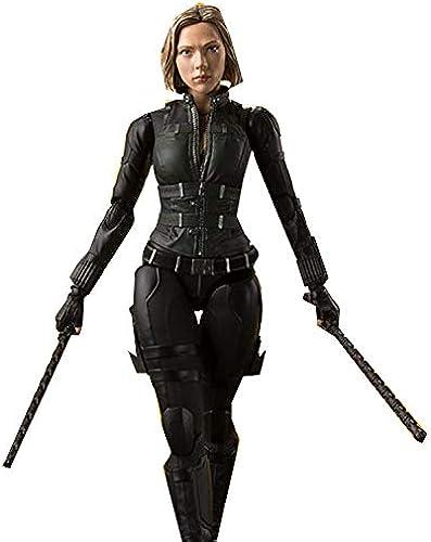 Avengers 3, SHF schwarz Widow Kann Das Modell, schwarz Widow, Bewegliche Box, 15cm,schwarz-15CM