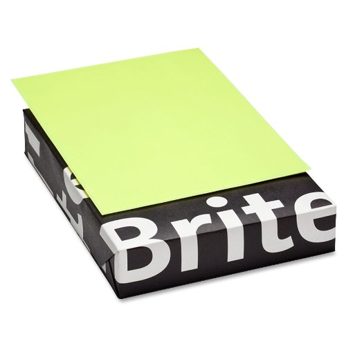 Mohawk BriteHue Ultra 20 lb., 8.5 x 11 Inch, Smooth Text Paper 500 Sheets/Ream - Sold as 1 Ream, Lemon (101246)