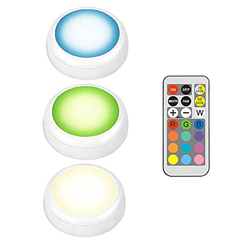 Juntful kast-afstandsbediening, helder, draadloos, LED-verlichting onder kast, keuken, verlichting met afstandsbediening