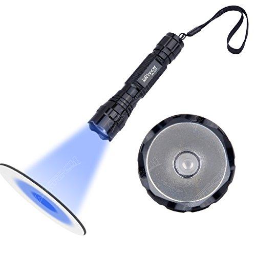 Nktech Nk-501b 1-mode UV LED 365nm Violet rétroéclairage recherche lampe de poche...
