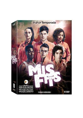 Misfits - Temporadas 1, 2 Y 3 [DVD]