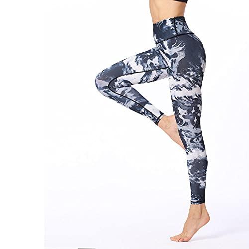 ArcherWlh Leggings Push Up Mujer,Nuevos Pantalones de Yoga Impresión Femenina Nueve Pantalones Altos Cintura Estirar Deportes Fitness Pantalones Yoga Ropa Fábrica Venta directa-Yh07_SG