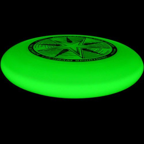 Discraft 175 gram Ultra-Star Sportdisc-Nite-Glo, colors may vary