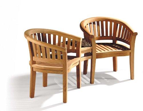 Jati Apollo Teak Companion Tete a Tete 2 Seater Love Bench - wedding idea Brand, Quality & Value