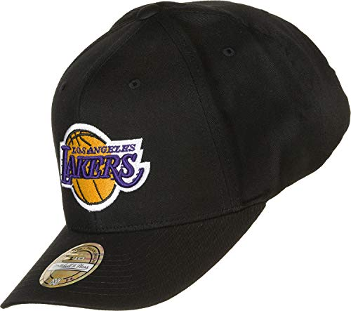 Mitchell & Ness NBA Los Angeles Lakers Team Logo Snapback Cap schwarz/orange, OS