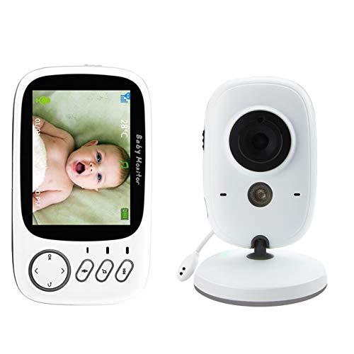 GAOYOO Moniteur Vidéo Couleur sans Fil pour Bébé avec 3,2 Pouces LCD 2 Voies Audio Talk Vision Nocturne Surveillance Caméra De Sécurité Babysitter