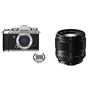 Fujifilm X-T3 Mirrorless Digital Camera (Body Only) - Silver + Fujinon XF56mmF1.2 R (B07XTYZQ67) | Amazon price tracker / tracking, Amazon price history charts, Amazon price watches, Amazon price drop alerts