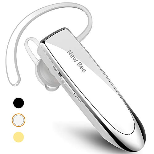 New bee Bluetooth Earpiece V5.0 Wireless Handsfree Headset 24 Hrs Driving Headset 60 Days Standby...
