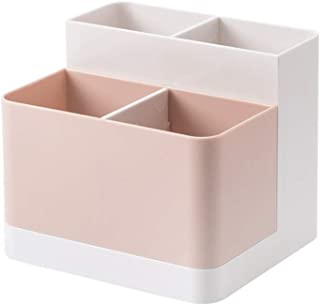 Poeland Desktop Storage Organizer Pencil Card Holder Box Container for Desk, Office Supplies, Vanity Table