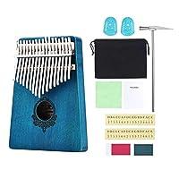 perfk カリンバサムピアノプロフェッショナルシリーズインストゥルメントキット17キーフィンガーピアノムビラ楽器ギフトProtableバッグ付き