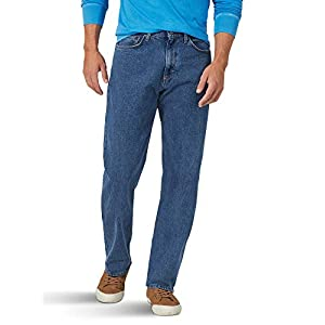 Wrangler  Men's Big & Tall Classic 5-Pocket Relaxed Fit Flex Jean