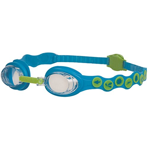 Mainline Kinder Schwimmbrille Sea Squad Goggles, Blue/Green, One Size