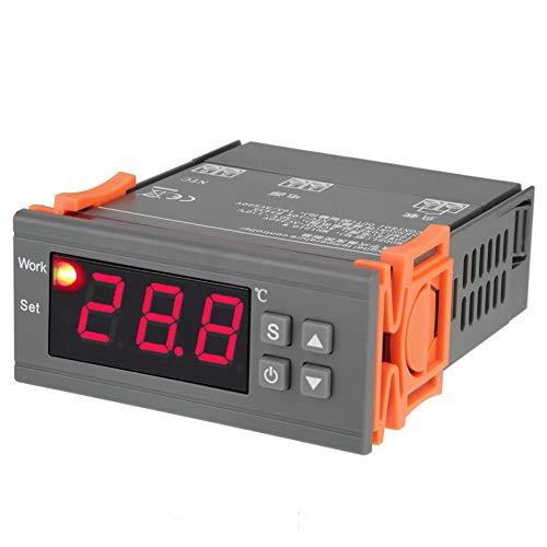 YOPOTIKA Calibración universal del termostato del regulador de temperatura digital con sonda AC 110 220V