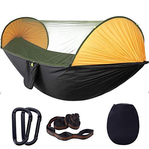 Hamacas Mobiliario de Camping Rápida Apertura Mosquitera Aire Libre Multi-Escena aplicación Anti-Mosquitos Anti-vuelco de Carga de 150 kg